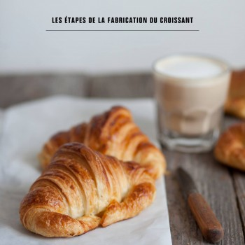 1. Making these tasty croissants is a long and delicate process that requires a lot of expertise… and a lot of patience!